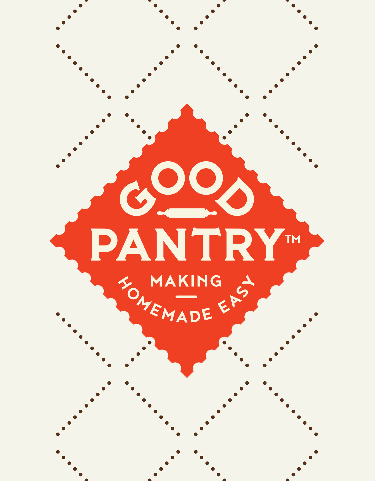 Chad Roberts Design Ltd. Good Pantry Brand Identity Design