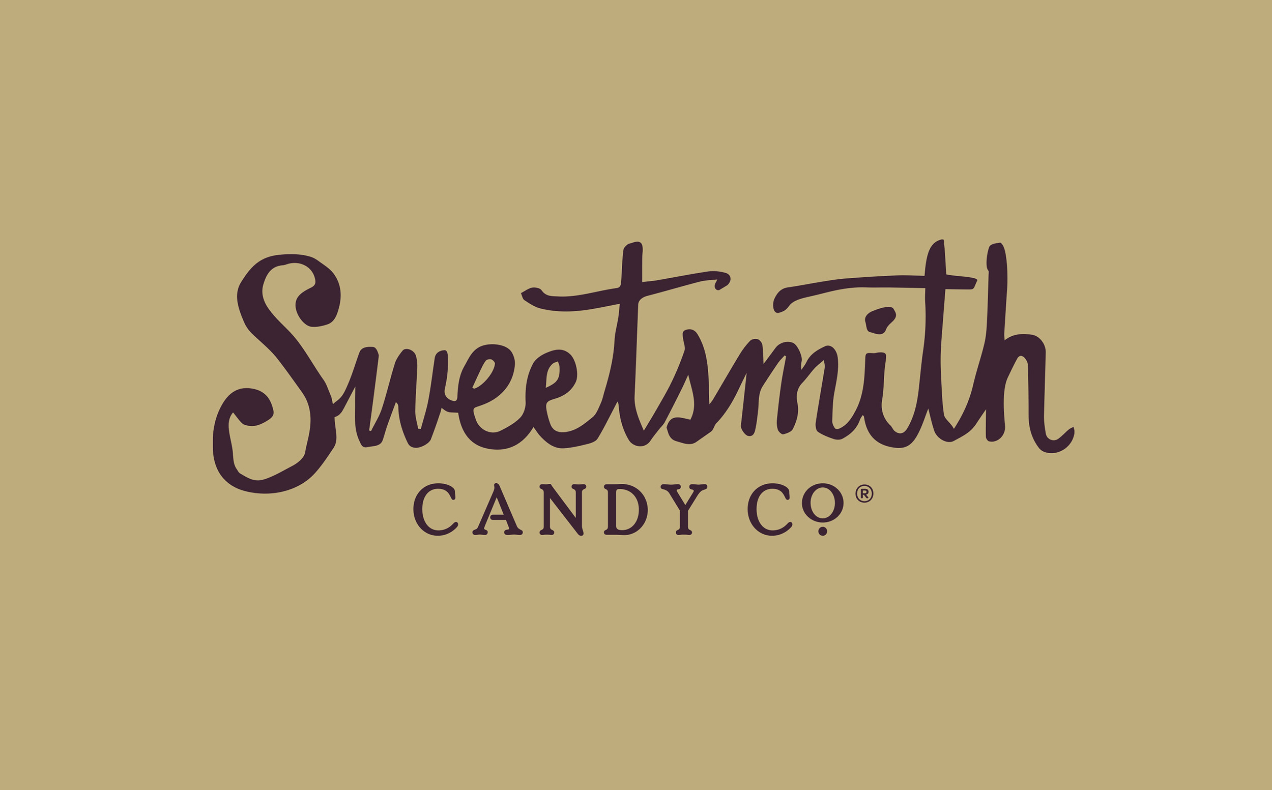 Chad Roberts Design Ltd. Sweetsmith Candy Co. Brand Identity Design
