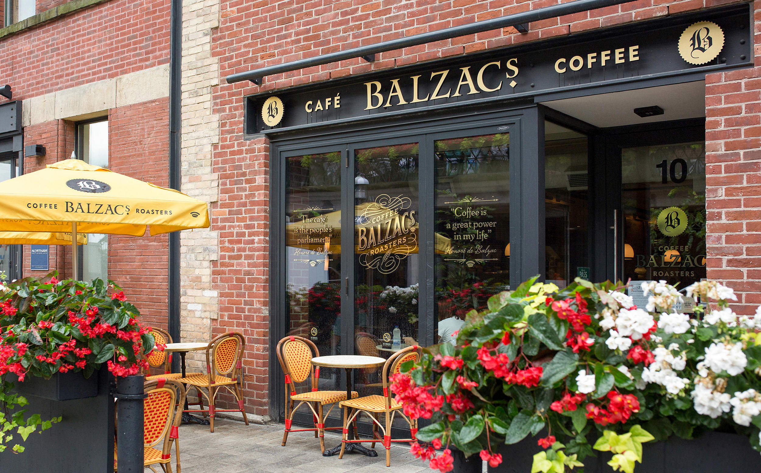 Chad Roberts Design Ltd. Balzac's Coffee Roasters Brand Identity Design
